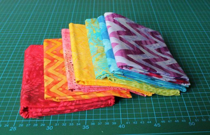 Batik Stoffe