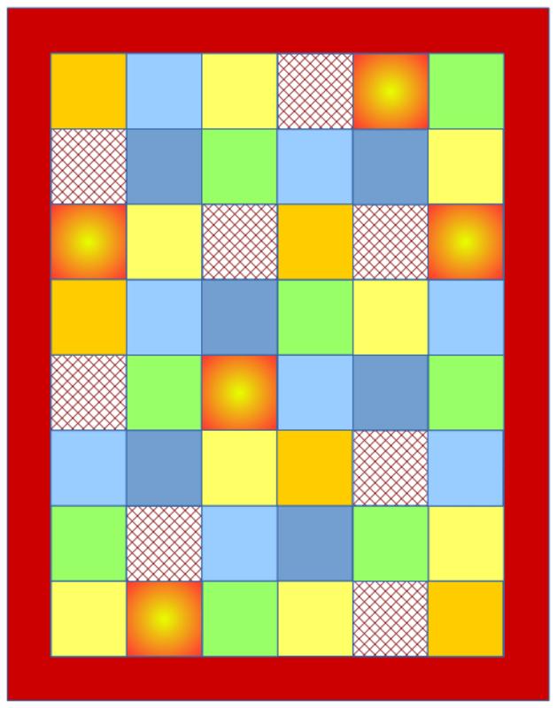 Baby-Quilt-Tutorial (6): Wie bringt man die Umrandung an? – quilt-virus