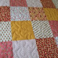 Baby-Quilt-Tutorial (8): Freihandquilten oder Stitch in the Ditch?