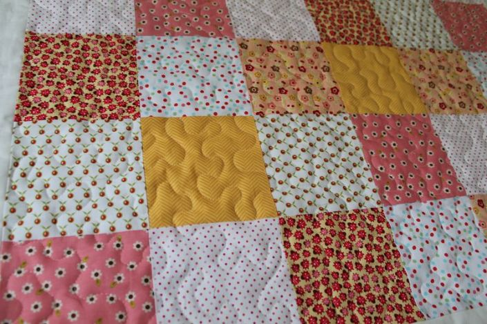 babyquilttutorial (8) freihandquilten oder stitch in  ~ Nähmaschine Quilten Geeignet