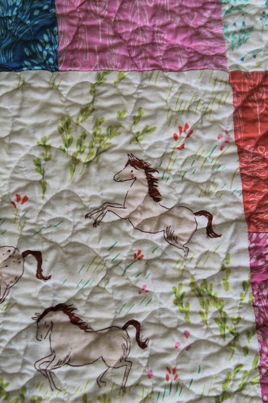 Wee Wander Quilt quilting #3