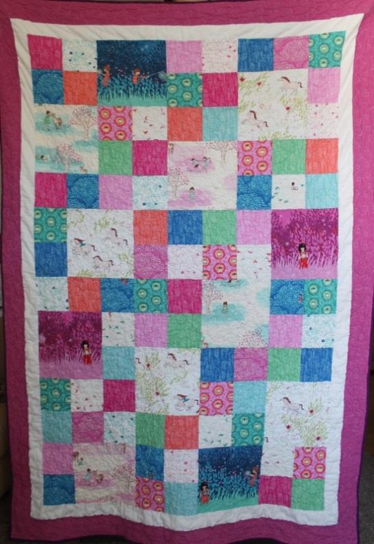 Wee Wander Quilt Sarah Jane Michael Miller fabrics
