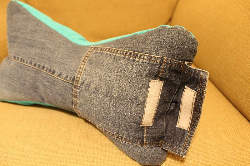 kissen aus jeans naehen, leseknochen die 4. – ein tutorial – quilt-virus, Design ideen