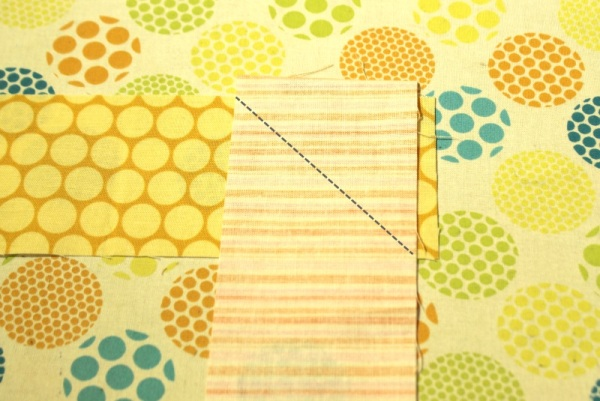 scrappy binding sewing