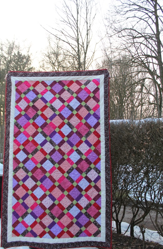 disappearing 9 patch quilt #2