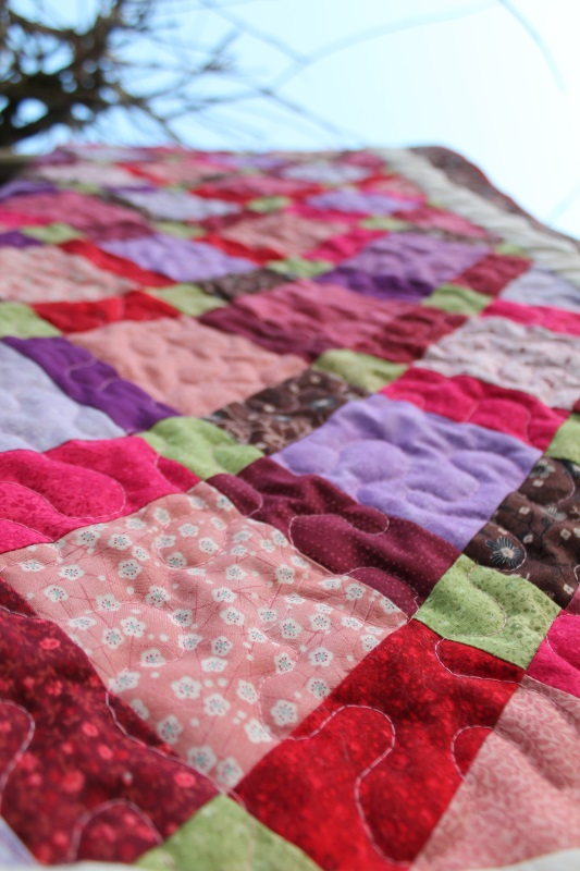 disappearing 9 patch quilt #4