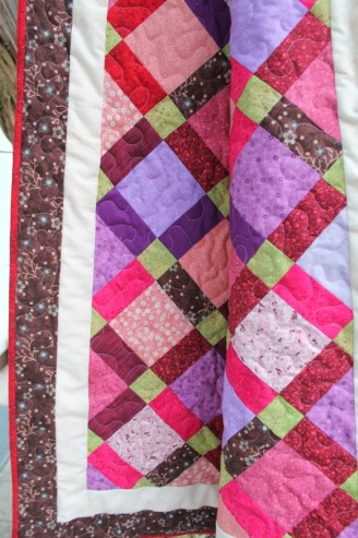 disappearing 9 patch quilt #9