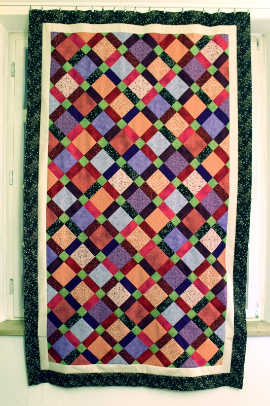 disappearing nine quilt fertig #1