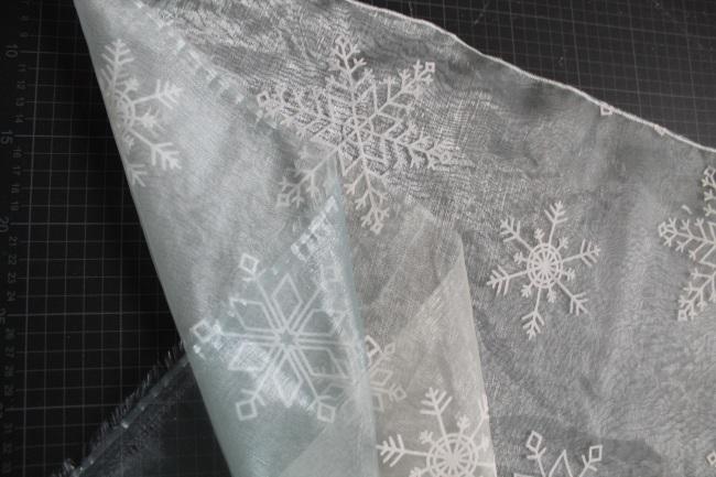 Elsa cape schleier DIY #1