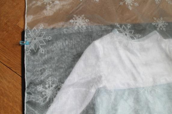 Elsa cape schleier DIY #4