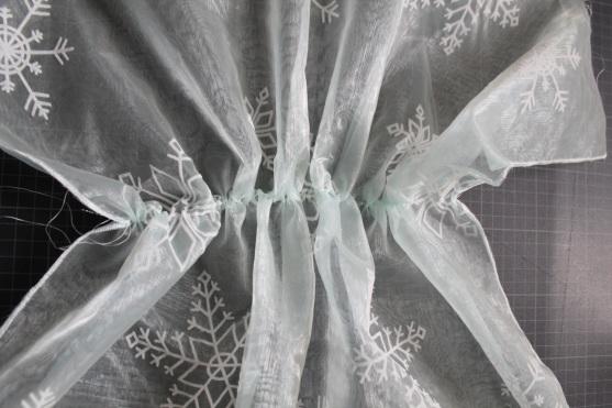 Elsa cape schleier DIY #5
