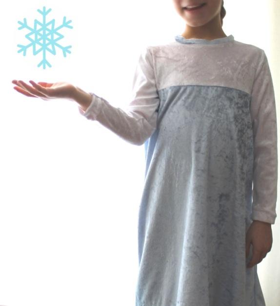 Elsa kostüm dress #11
