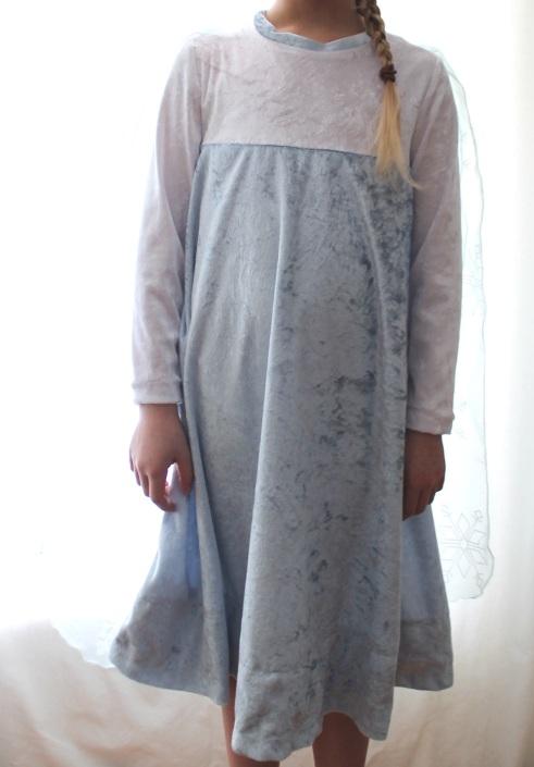 Elsa kostüm dress #12