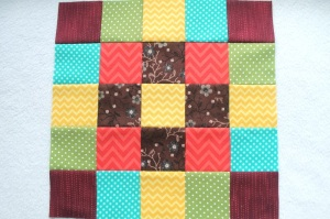 block of the month Februar #1