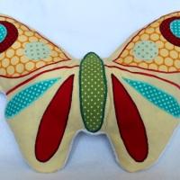 Kuschelkissen Schmetterling - ein Freebook :)