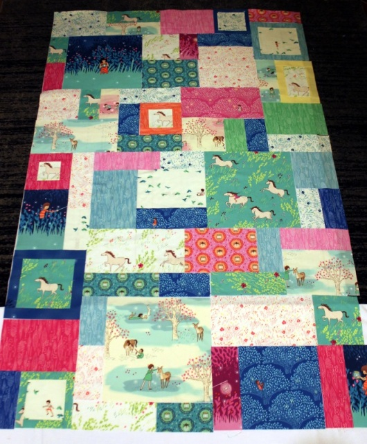 Wee Wander Quilt Layout #2