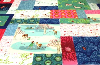 Wee Wander Quilt Layout #3