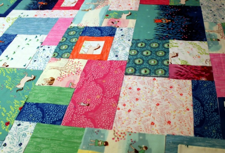 Wee Wander Quilt Layout