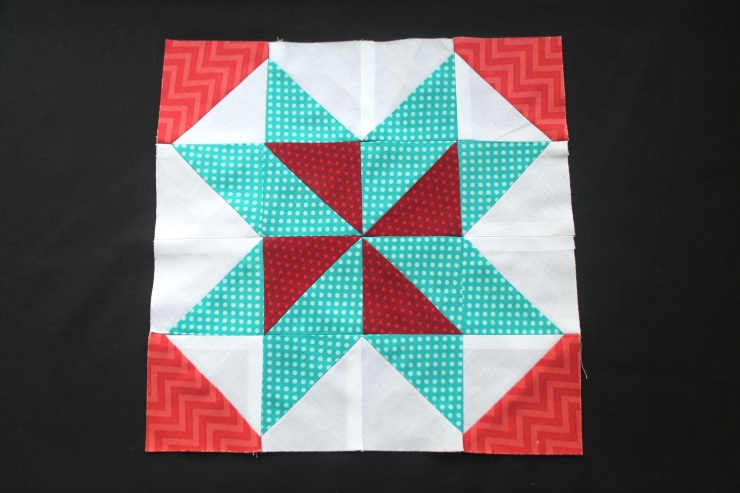 April Block Star #3