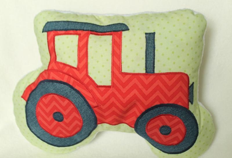 roter Traktor #1