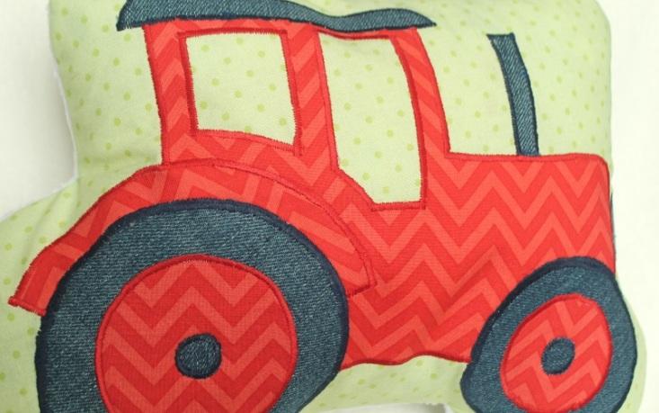roter Traktor #3