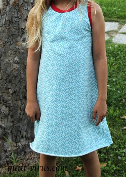 Racerback Dress #205