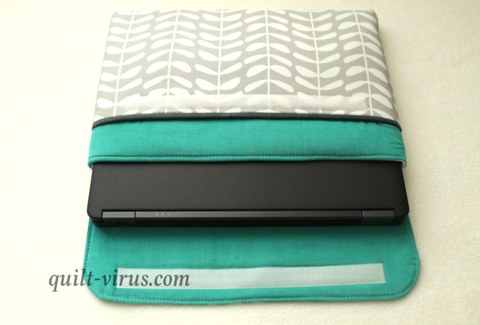 Laptoptasche nach eigenem Schnitt :) – quilt virus