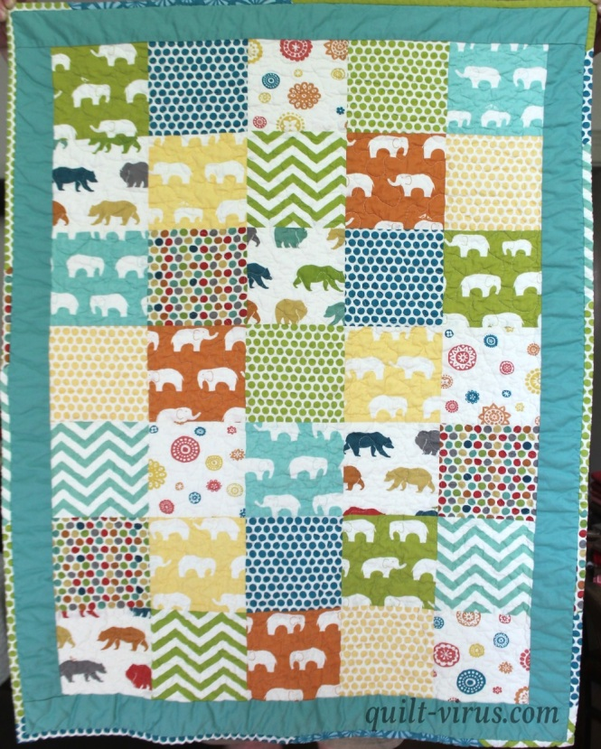 Baby Quilt 12